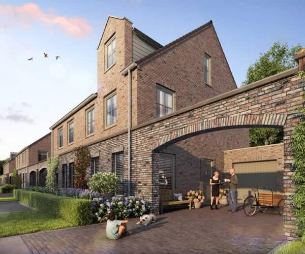 Nieuwe woonbuurt Kloosterveldt in Veghels Buiten