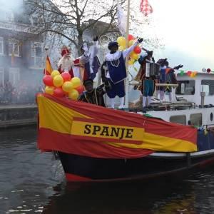 Grootse ontvangst Sinterklaas in Veghel