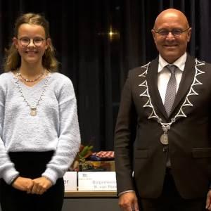 Elin de Baaij nieuwe kinderburgemeester Meierijstad