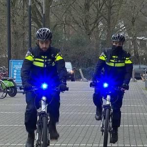 Politie krijgt zwaailicht op fiets
