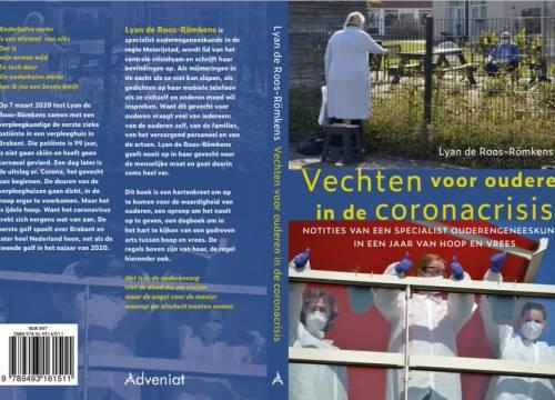 Specialist ouderengeneeskunde Lyan Roos schrijft boek over coronacrisis