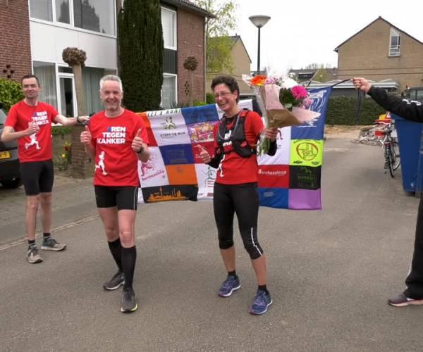 50 Kilometer hardlopen voor een goed doel - KWF
