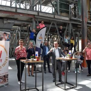 Weer financiële steun voor jonge talentvolle kunstenaars van CHV Academy