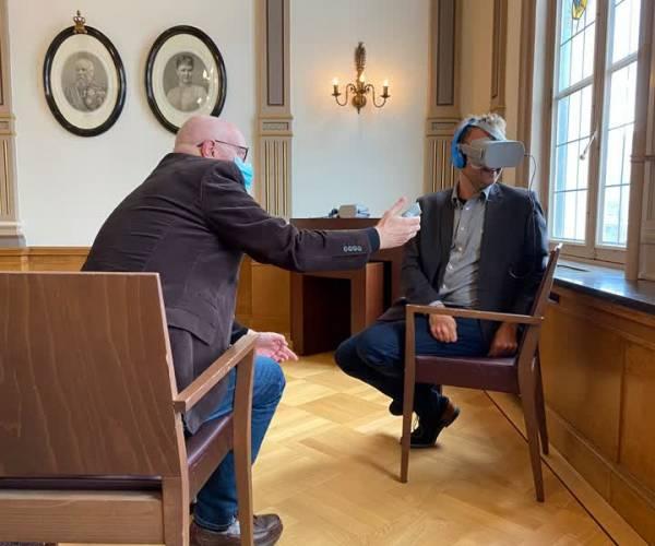 VR dementiebrillen in bieb