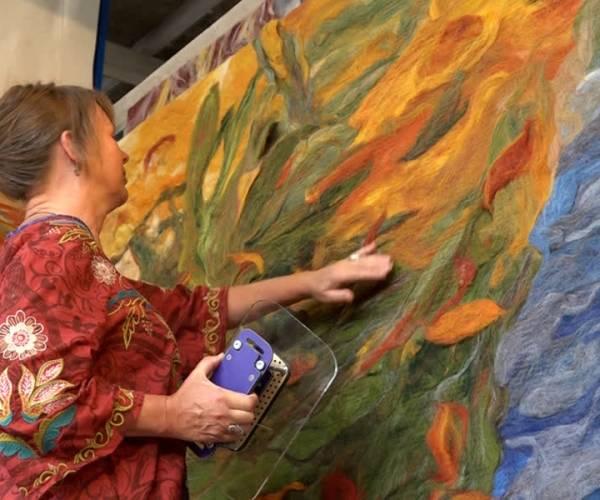 Wolschilderijen uit Schijndel (video)