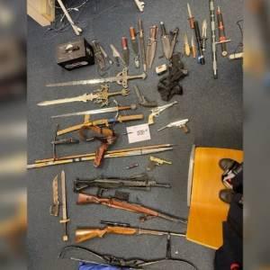 Huis vol wapens in Erp
