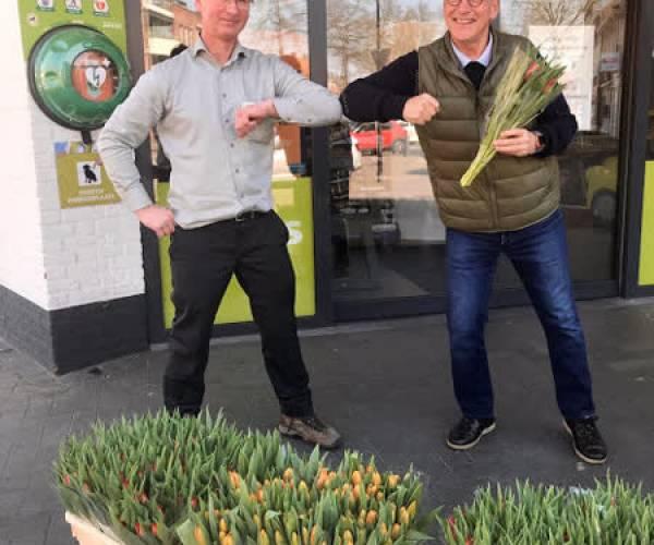 Tulpen voor reumapatiënten in Meierijstad