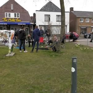 Maar weinig deelnemers bij picknick-actie van horeca in Meierijstad