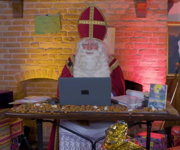 Sint op de moderne toer: Sinterklaasserie bij Omroep Meierij