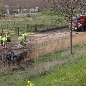 Ernstig ongeval op de Vorstenbosscheweg: auto in brand