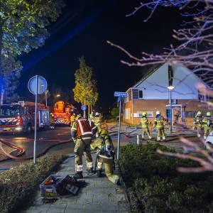 4 gewonden bij woningbrand aan Planetenlaan Schijndel