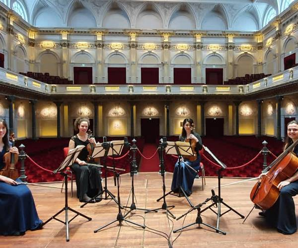 GoYa Quartet eert Beethoven in Uurtje Klassiek
