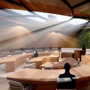Schijndelse architecten maken plan voor ondergrondse raadszaal in Rooi