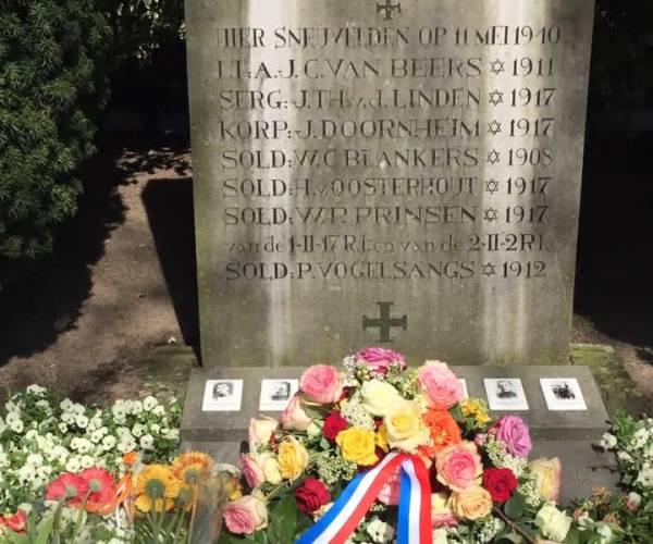 Herdenking oorlogsslachtoffers in Zijtaart