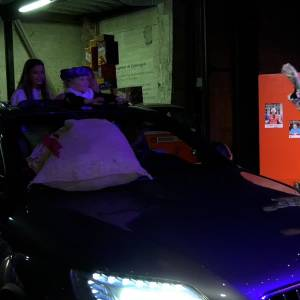 Sinterklaas in de Drive through