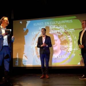 Cultuurprijs voor Willem Wouters en Marc van Kessel