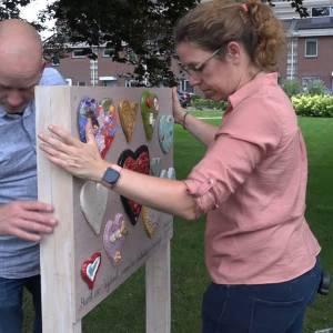 Kunstproject Hart van Wijbosch afgerond: 'hoop op verbinding'