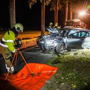 Slachtoffer bekneld na ongeval