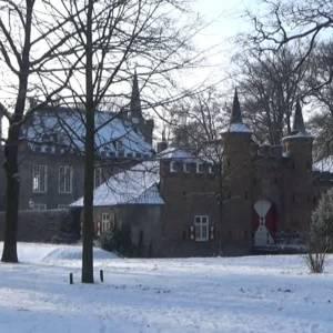 Toverachtige witte wereld in Sint-Oedenrode