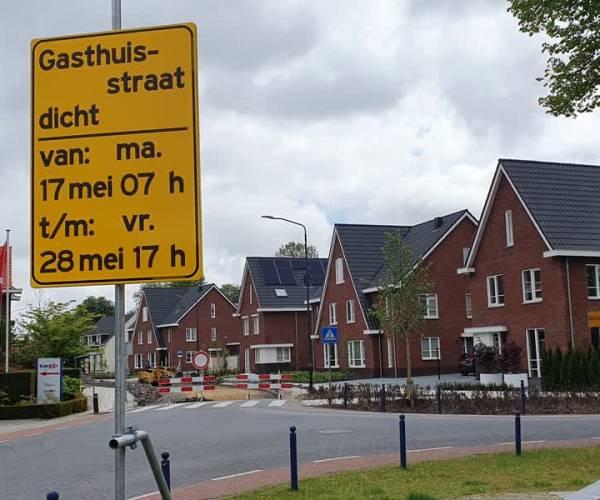 Gasthuisstraat Veghel twee weken afgesloten