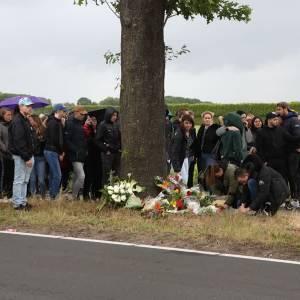 Herdenking op Rooiseweg