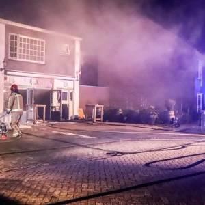 Heftige brand Eetcafé Oud-Nijnsel