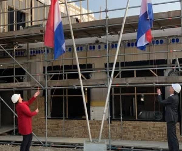 Hoogste vlag Kindcentrum Nijnsel