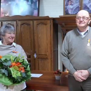 Koninklijke onderscheidingen voor Jeanne Princee en Wim Heesakkers