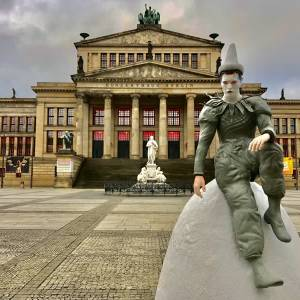 Erps bedrijf plaatst beeld Bowie in Berlijn