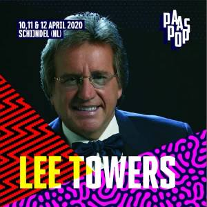 Lee Towers komt naar Paaspop