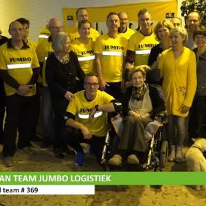 Jumboteam schenkt 18000 euro aan hospice