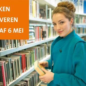 Bibliotheken nemen weer boeken in; uitlenen gebeurt nog niet