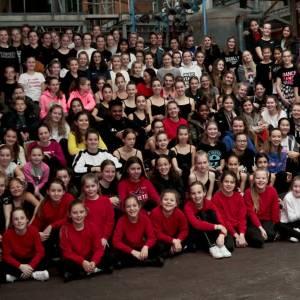 Masterclass voor 140 deelnemers aan FestiDans De Show