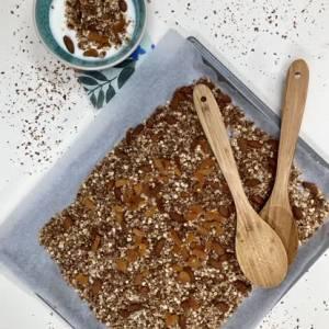 Meierijstad Vitaal: granola en groene smoothie