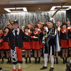 Prins Hannes D'n Derde eregast bij Joachim & Anna