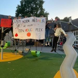 Hek moet schoolkinderen Wijbosch beschermen