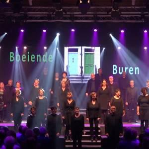 Omroep Meierij zendt Boeiende Buren van Theaterkoor Stem uit
