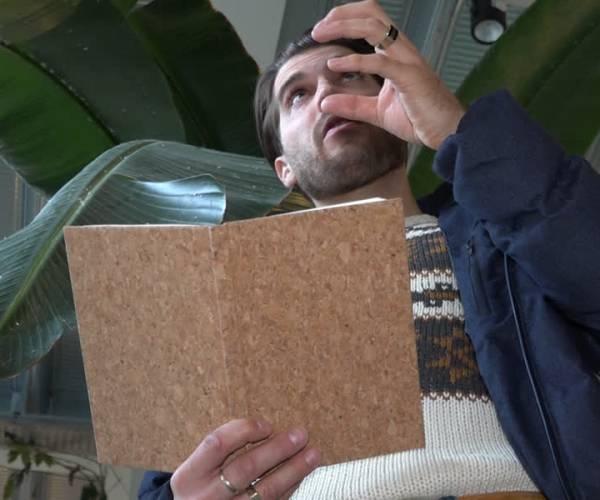 Stadsdichter Rick Terwindt: 'Onbeschreven blad'