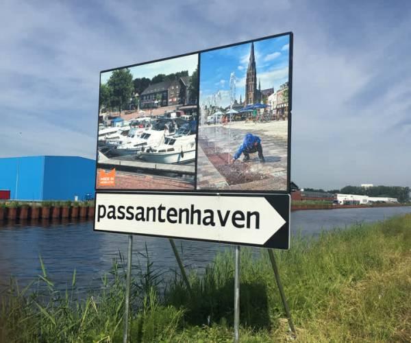 Steeds meer plezierjachten in haven Veghel