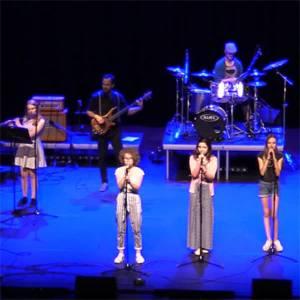 Concert door leerlingen en docenten Fioretti College en Zwijsen College