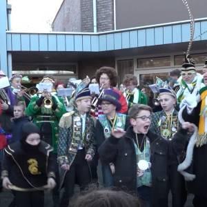 Start Schijndels schoolcarnaval op De Vossenberg