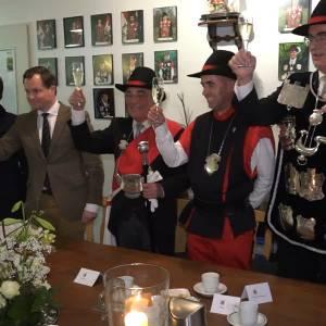 Gildezusters officieel welkom bij Sint Barbara