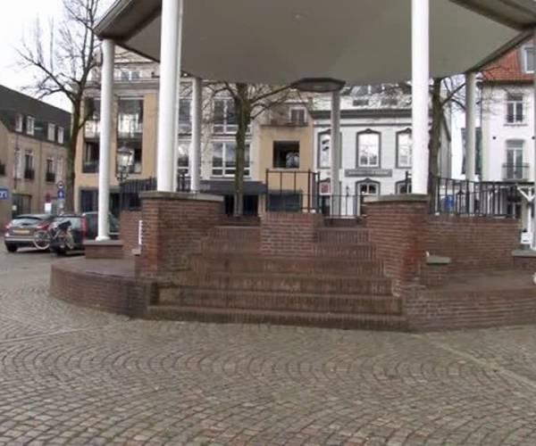 Proefvak op Markt Sint-Oedenrode