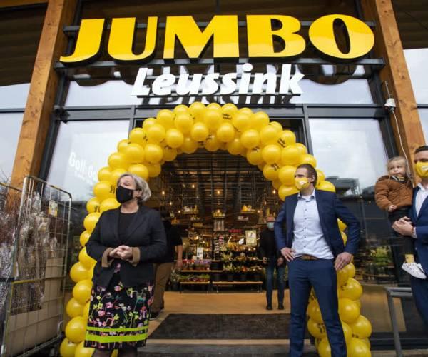 Twee keer feest voor Jumbo