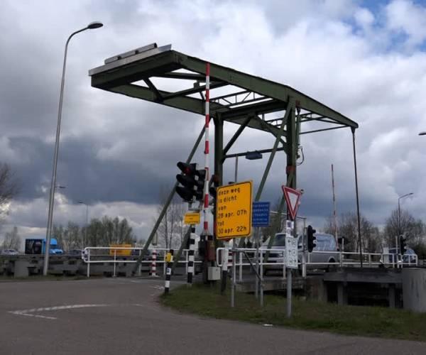 Erpse brug gaat tijdelijk dicht