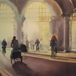 Jan Heestershuis waardeert aquarellisten met expositie