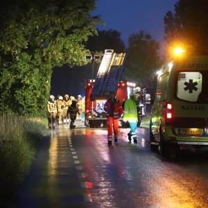 Twee jonge mannen gewond bij ongeval