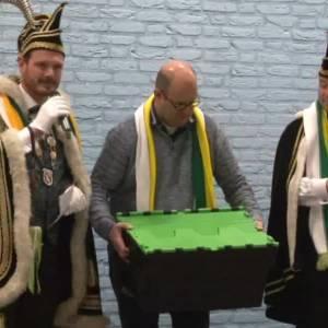 Overhandiging lespakket carnaval SKOPOS Schijndel