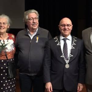 Hans Vlasblom en Ben Merx uit Schijndel Koninklijk onderscheiden