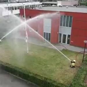 Ereteken voor omgekomen brandweermensen